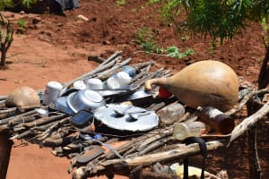 The Water Project: Maluvyu Community G -  Dishes