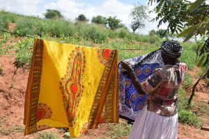 The Water Project: Maluvyu Community G -  Hanging Clothes