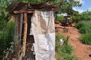 The Water Project: Maluvyu Community G -  Latrines