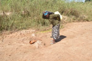 The Water Project: Mukuku Community A -  Carrying Water