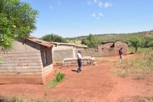 The Water Project: Mukuku Community A -  Compound