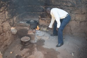 The Water Project: Mukuku Community A -  Cooking