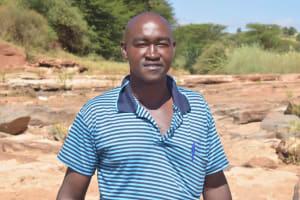 The Water Project: Mukuku Community A -  Kyalo Ndeto