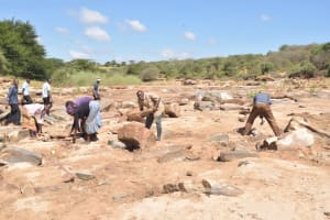 The Water Project: Mukuku Community A -  Preparing For The Well