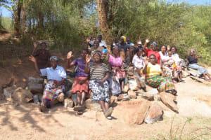 The Water Project: Mukuku Community A -  Self Help Group Members
