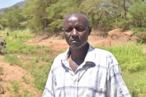 The Water Project: Kaukuswi Community A -  Benjamin Musau