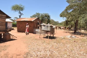 The Water Project: Kaukuswi Community A -  Chicken Coop