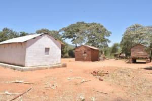 The Water Project: Kaukuswi Community A -  Compound