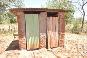 The Water Project: Kaukuswi Community A -  Latrines