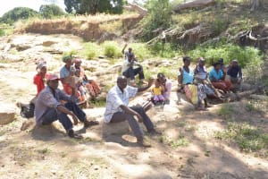The Water Project: Kaukuswi Community A -  Meeting Of Self Help Group Members