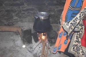 The Water Project: Kaukuswi Community A -  Stove