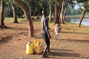 The Water Project: Kangalu Community A -  Containers Ready To Be Loaded