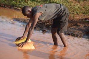 The Water Project: Kangalu Community A -  Unsafe Water