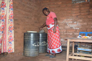 The Water Project: Kangalu Community A -  Water Storage Containers