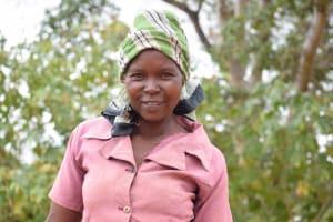 The Water Project: Katuluni Community -  Elizabeth Mueni