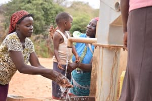 The Water Project: Katuluni Community -  Reliable Water