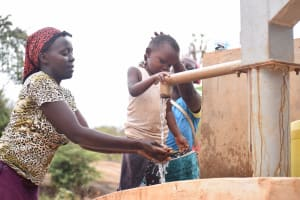 The Water Project: Katuluni Community -  Well A Year Later