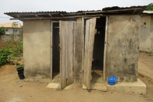 The Water Project: Tholmossor, Masjid Mustaqeem, 18 Kamtuck Street -  Latrine Structures