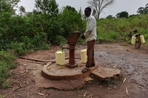 The Water Project: Nyakasenyi Byebega Community -  Alternative Water Source