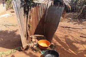 The Water Project: Nyakasenyi Byebega Community -  Bath Shelter