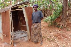 The Water Project: Nyakasenyi Byebega Community -  Bathing Shelter