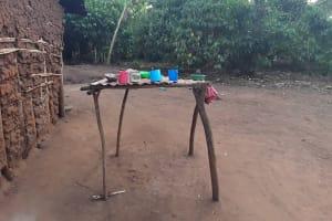 The Water Project: Nyakasenyi Byebega Community -  Dish Rack