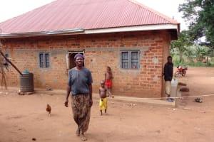 The Water Project: Nyakasenyi Byebega Community -  Family At Home