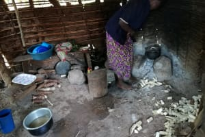 The Water Project: Nyakasenyi Byebega Community -  Kitchen
