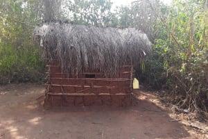 The Water Project: Nyakasenyi Byebega Community -  Latrine And Handwashing Station