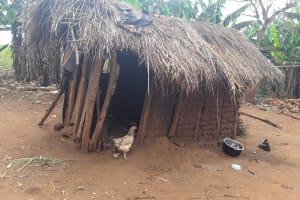 The Water Project: Nyakasenyi Byebega Community -  Typical Kitchen
