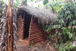 The Water Project: Nyakasenyi Byebega Community -  Latrine
