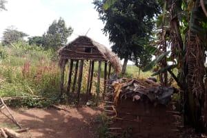 The Water Project: Kimigi Kyamatama Community -  Chicken Coop And Livestock Pen