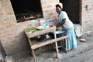 The Water Project: Kimigi Kyamatama Community -  Dish Drying Rack