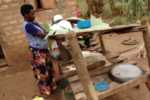 The Water Project: Kimigi Kyamatama Community -  Dish Rack