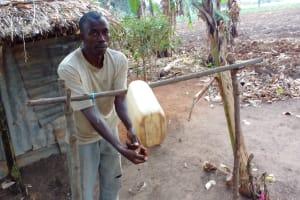 The Water Project: Kimigi Kyamatama Community -  Handwashing