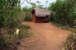 The Water Project: Kimigi Kyamatama Community -  Latrine