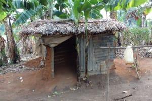 The Water Project: Kimigi Kyamatama Community -  Latrine And Handwashing Station