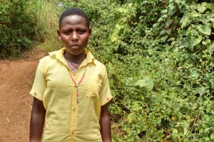 The Water Project: Kimigi Kyamatama Community -  Margaret Alinatwe