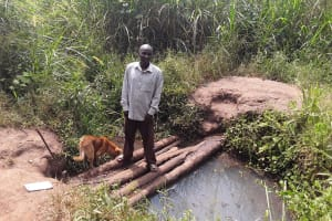 The Water Project: Kimigi Kyamatama Community -  Posing At Open Source
