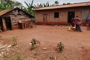 The Water Project: Kikube Nyabubale Community -  Compound