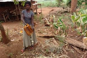 The Water Project: Kikube Nyabubale Community -  Garbage Pit