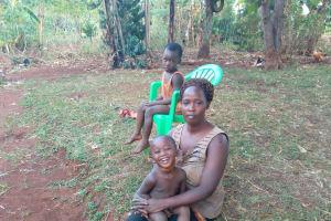 The Water Project: Kikube Nyabubale Community -  Margret Nyamahunge