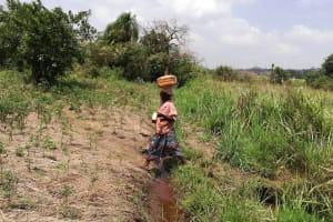 The Water Project: Kikube Nyabubale Community -  Walking With Water
