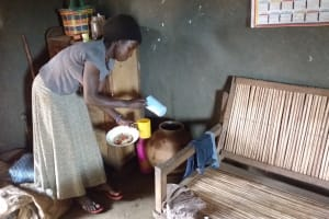 The Water Project: Kikube Nyabubale Community -  Water Storage
