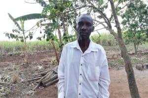 The Water Project:  Kasaija Isaac