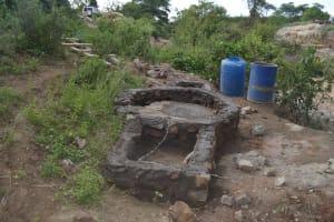 The Water Project: Ilandi Community A -  Well Progress