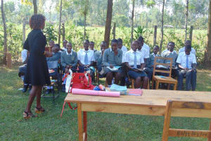 The Water Project: Ebubere Mixed Secondary School -  Training