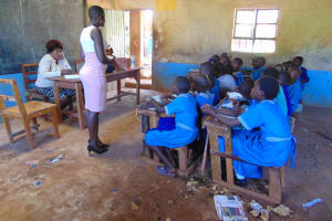 The Water Project: Kegoye Primary School -  Training