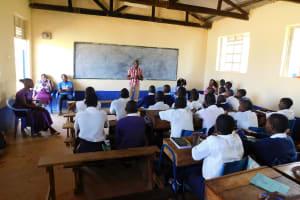 The Water Project: Namasanda Secondary School -  Training