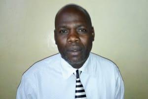 The Water Project: Gimariani Secondary School -  Principal Joseph Gavala